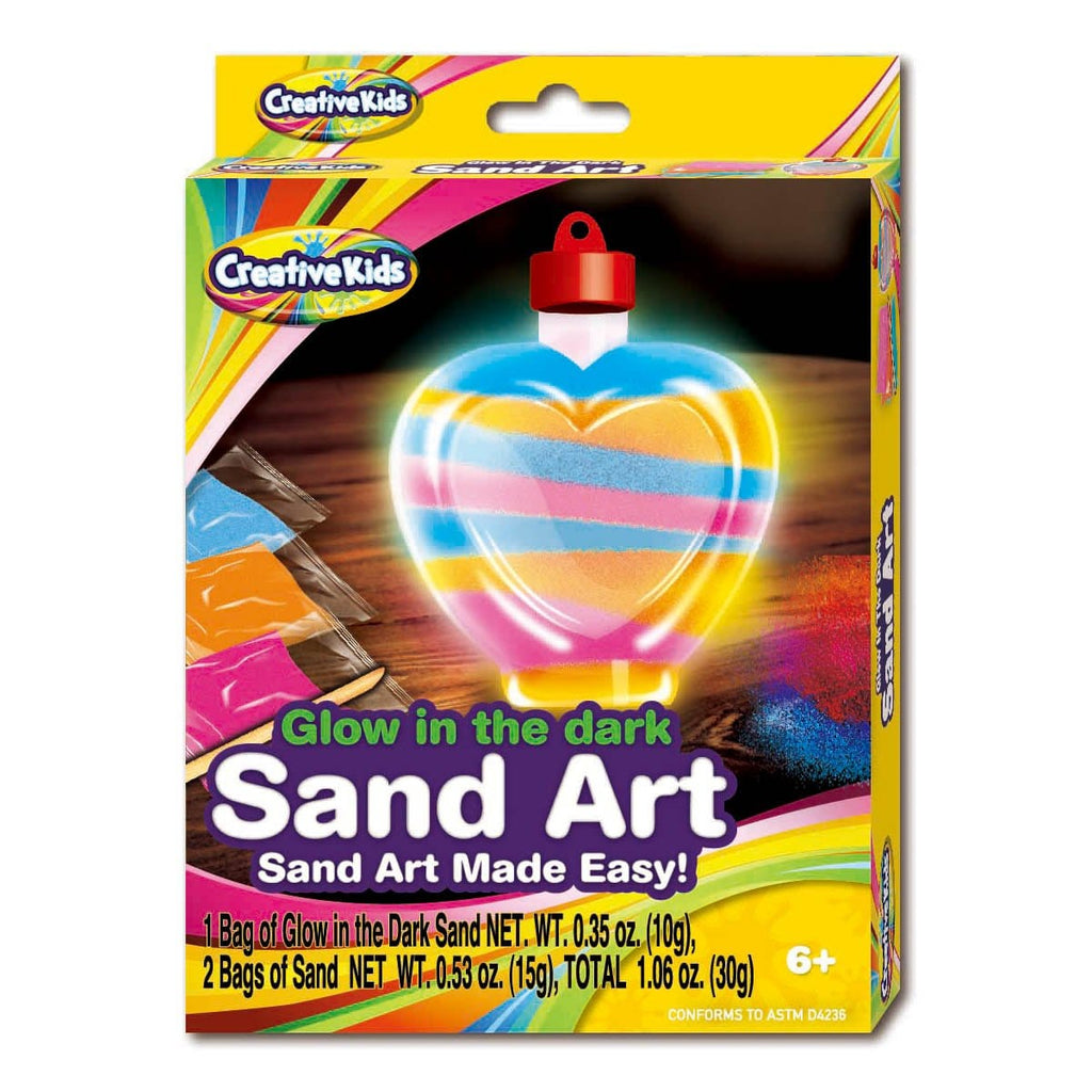 Glow in the Dark Sand Art - Daves Deals
