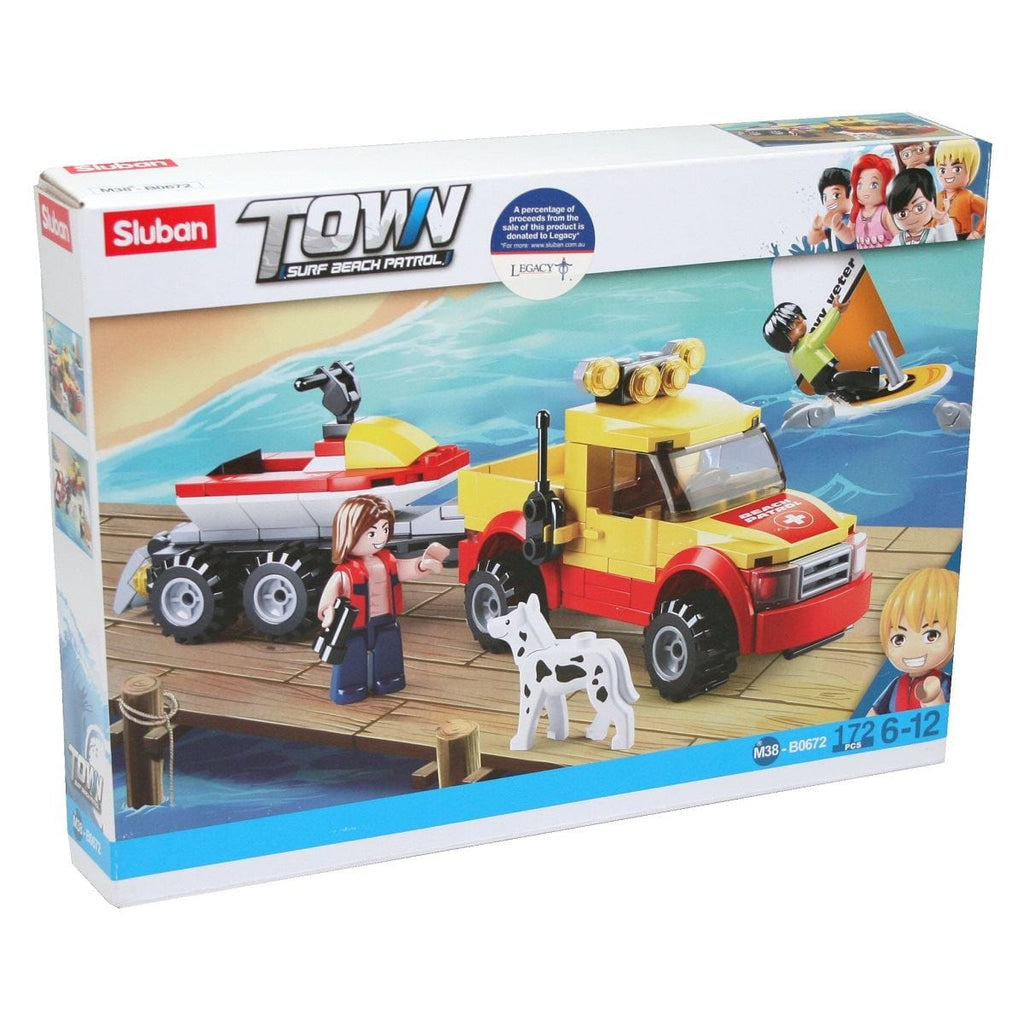 Surf Beach Pick-Up With Trailer