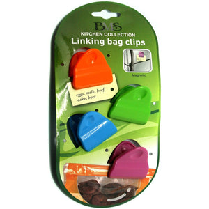 Mini Magnetic Bag Clips Set 4, [Product Type] - Daves Deals