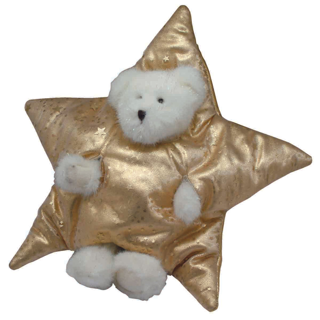 Boyd's Bear Glitter B Sparkle Tree Topper, [Product Type] - Daves Deals
