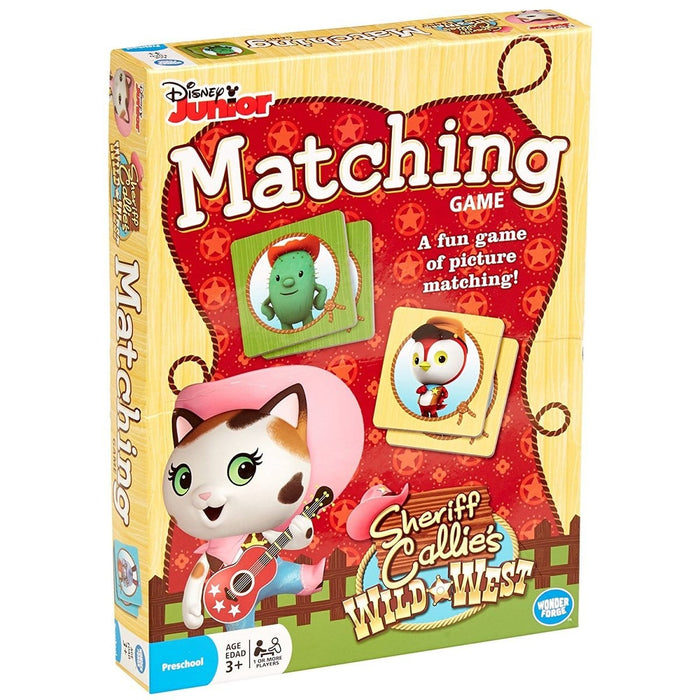 Sherrif Callie's Matching Game