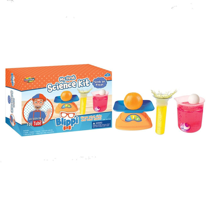 Blippi - My First Science Kit - Sink or Float
