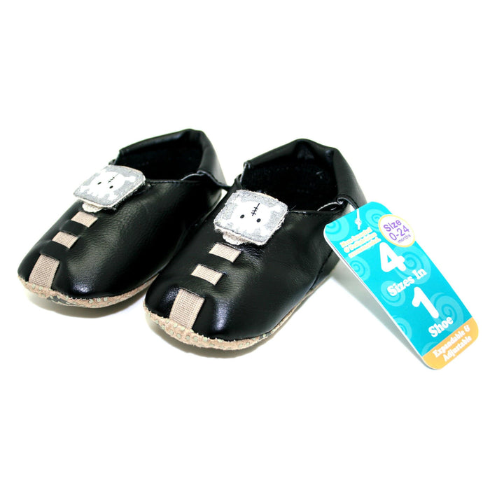 Shupeas Skull Design - Expandable & Adjustable Soft Sole Baby Shoes