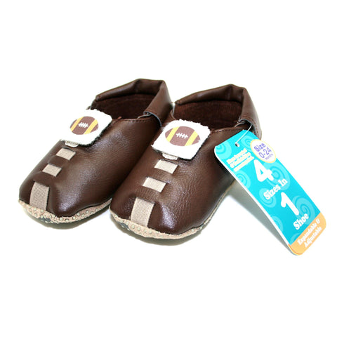 Shupeas Football Design - Expandable & Adjustable Soft Sole Baby Shoes - Shoes - Daves Deals