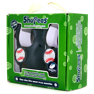 Shupeas Baseball Design - Expandable & Adjustable Soft Sole Baby Shoes, [Product Type] - Daves Deals