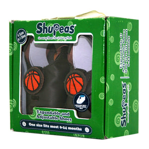 Shupeas Basketball Design - Expandable & Adjustable Soft Sole Baby Shoes, [Product Type] - Daves Deals