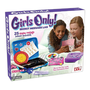 SmartLab Toys Girls Only! Secret Message Lab