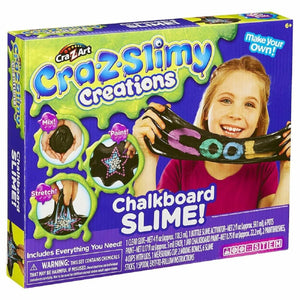 Cra-Z-Slimy Creations Chalkboard Slime!