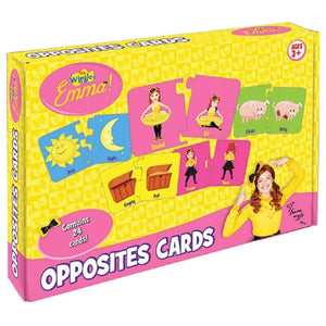 The Wiggles Emma Opposites Cards
