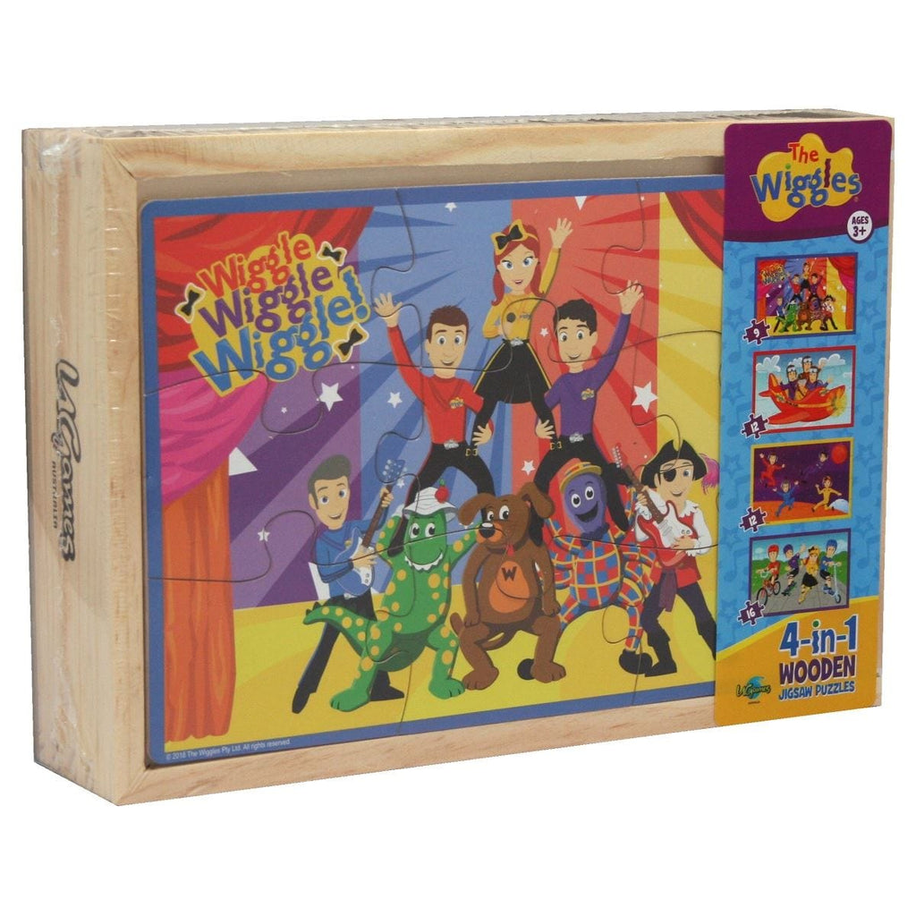 The Wiggles 4 in 1 Puzzle, [Product Type] - Daves Deals