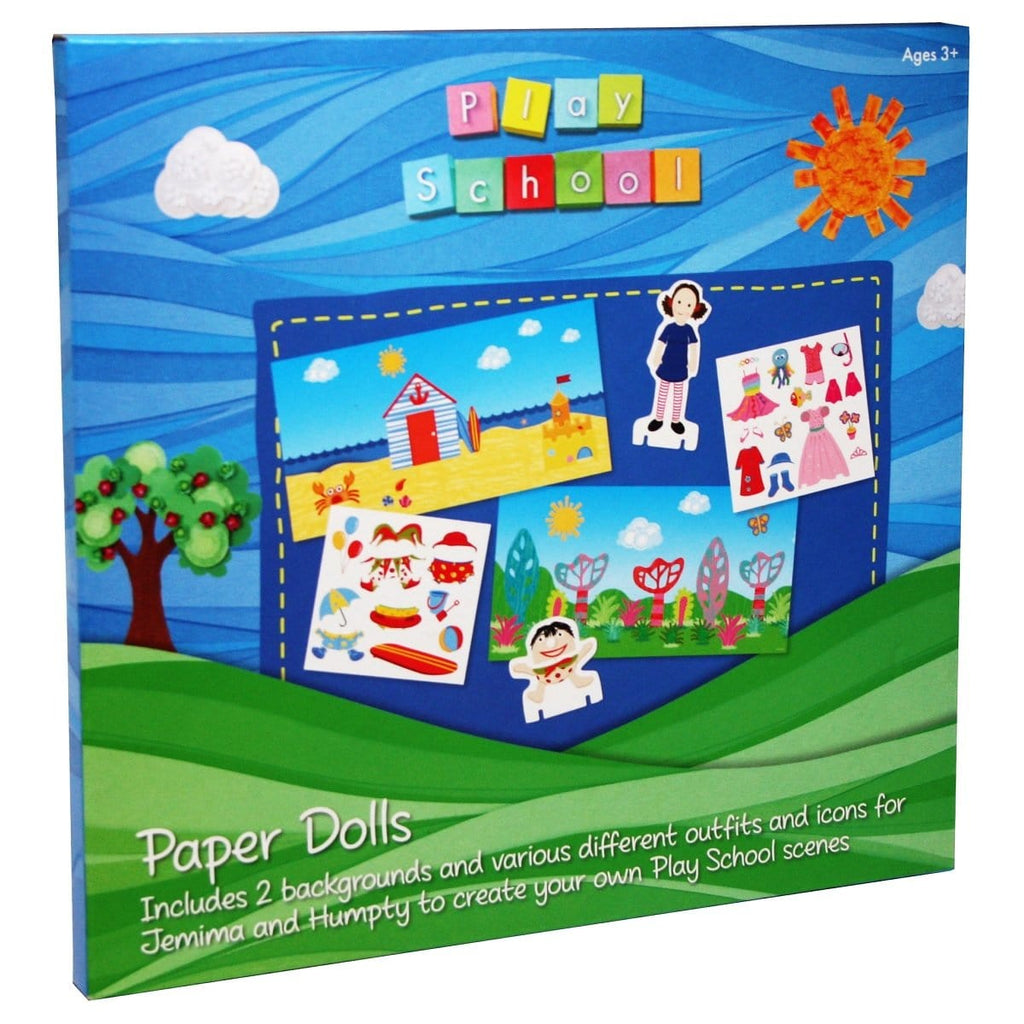 Play School Paper Dolls, [Product Type] - Daves Deals