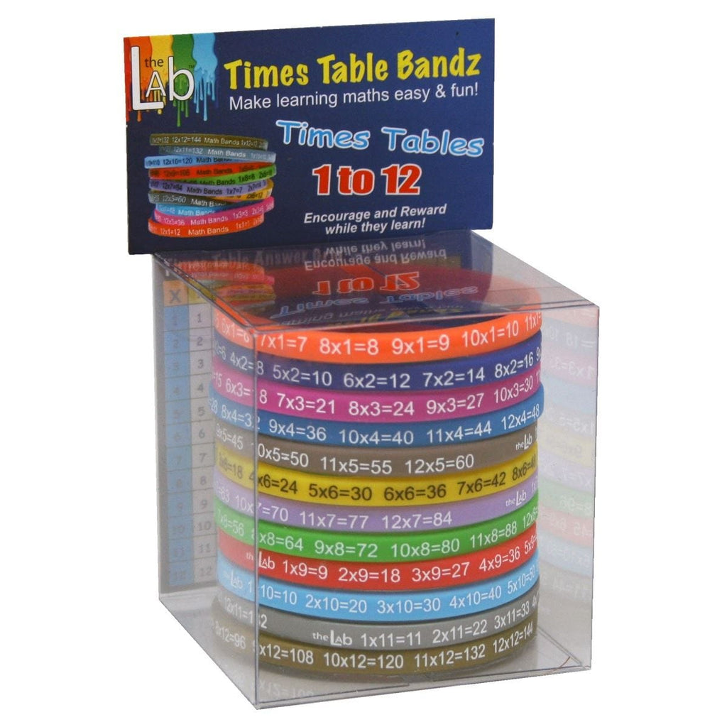 The Lab Times Table Bandz - Daves Deals