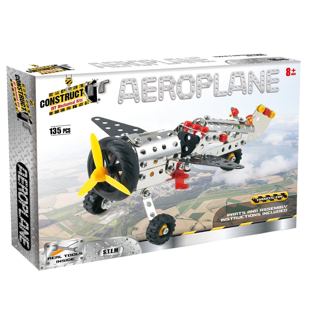 Construct It! Aeroplane, [Product Type] - Daves Deals