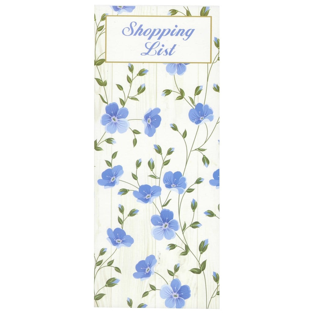 Scribbles Stationery Exquisite Floral Shopping List Notepad - Daves Deals