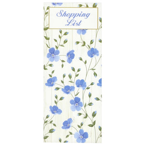 Scribbles Stationery Exquisite Floral Shopping List Notepad, [Product Type] - Daves Deals