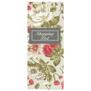 Scribbles Stationery Vintage Rose Shopping List Notepad, [Product Type] - Daves Deals