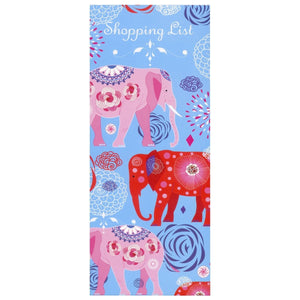 Scribbles Stationery Elephant Parade Shopping List Notepad - Daves Deals