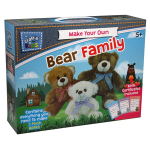 Make Your Own Bear Family - Daves Deals