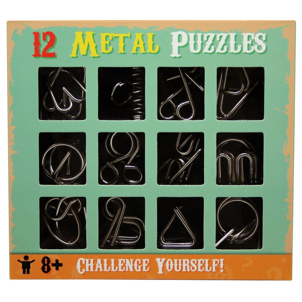 12 Metal Puzzles, [Product Type] - Daves Deals