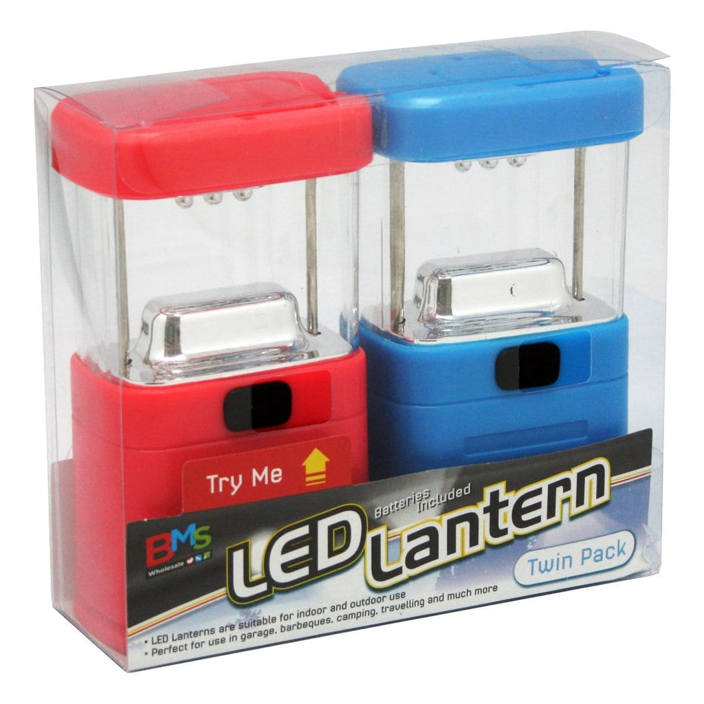 LED Lantern Twin Pack, [Product Type] - Daves Deals