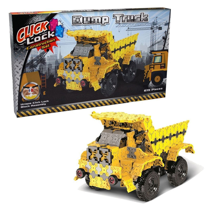 Click Lock - Dump Truck 619 Piece Construction Set