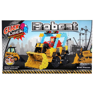 Click Lock - Bobcat 676 Piece Construction Set