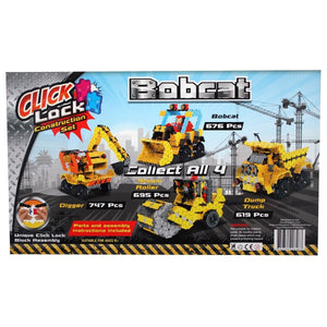 Click Lock - Bobcat 676 Piece Construction Set, [Product Type] - Daves Deals