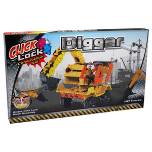 Click Lock - Digger 747 Piece Construction Set, [Product Type] - Daves Deals