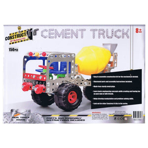 Construct-It! Cement Truck 150 Piece Kit, [Product Type] - Daves Deals