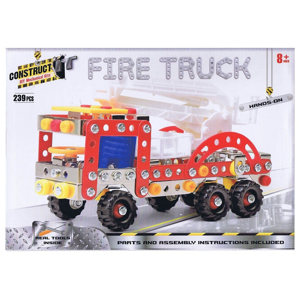 Construct-It Fire Truck 239 Piece Kit, [Product Type] - Daves Deals
