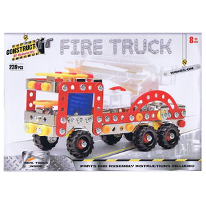 Construct-It! Fire Truck 239 Piece Kit, [Product Type] - Daves Deals