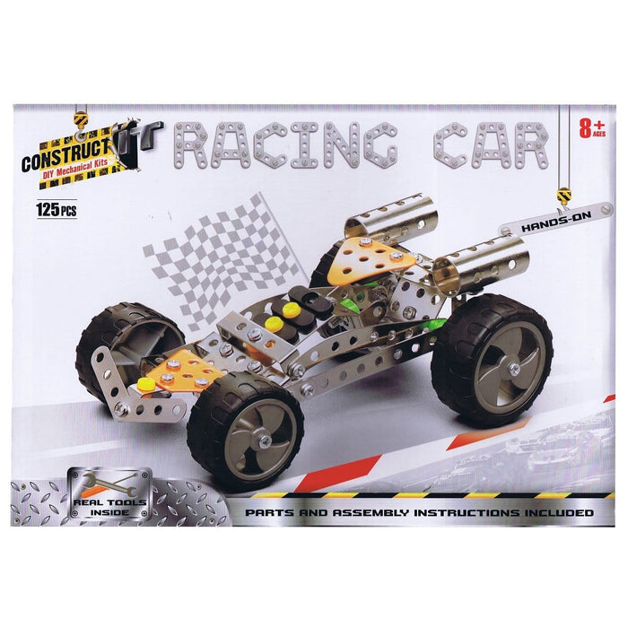 Construct-It! Racing Car 125 Piece Kit