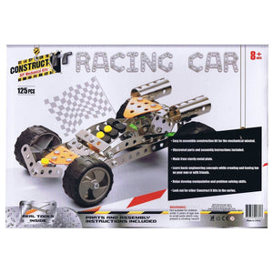 Construct-It! Racing Car 125 Piece Kit, [Product Type] - Daves Deals