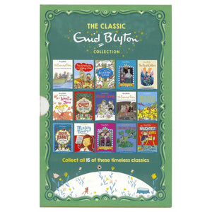 The Classic Enid Blyton Collection 15 Copy Slipcase