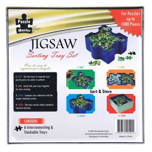 Jigsaw Sorting Tray Set - Daves Deals