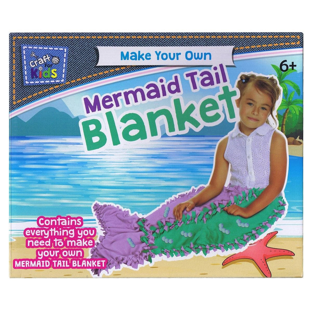 Make Your Own Mermaid Tail Blanket