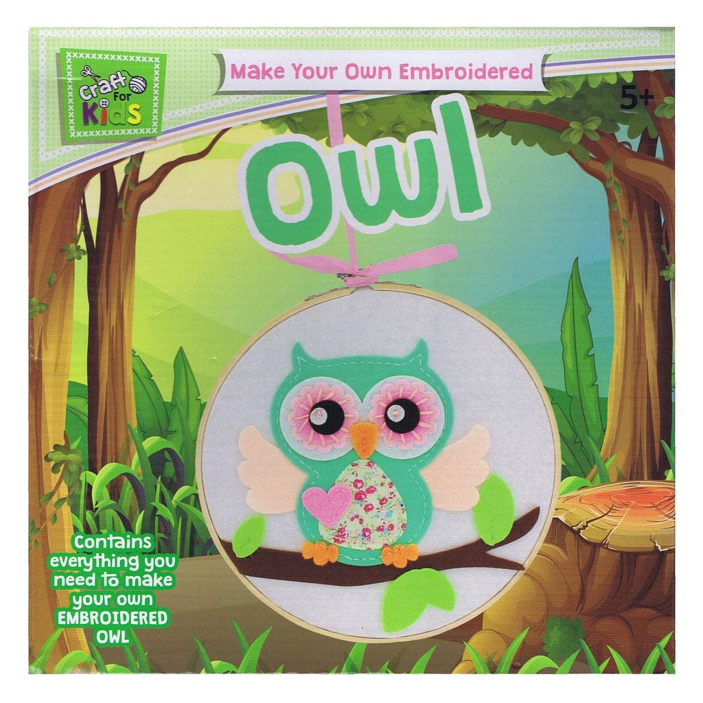 Make Your Own Embroided Owl