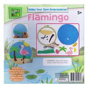 Make Your Own Embroided Flamingo, [Product Type] - Daves Deals