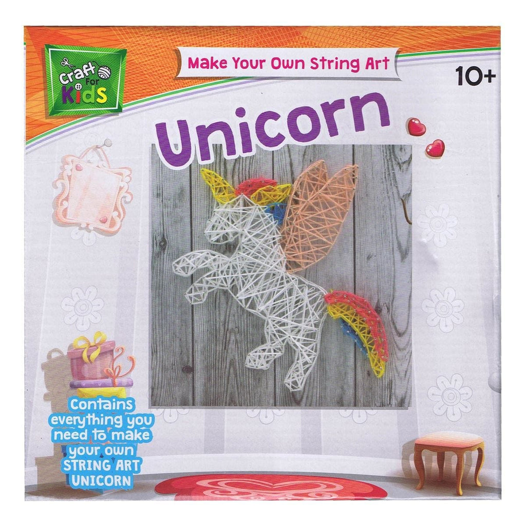Make Your Own String Art Unicorn, [Product Type] - Daves Deals