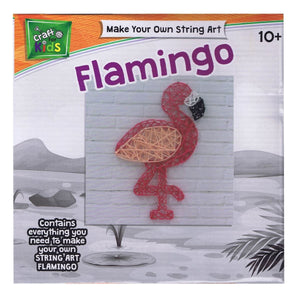Make Your Own String Art Flamingo