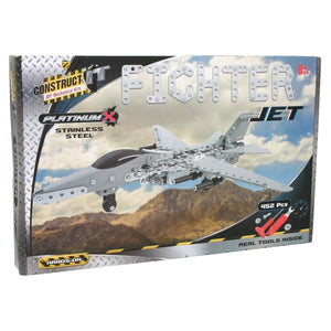 Construct It Kit Platinum X – Fighter Jet, [Product Type] - Daves Deals