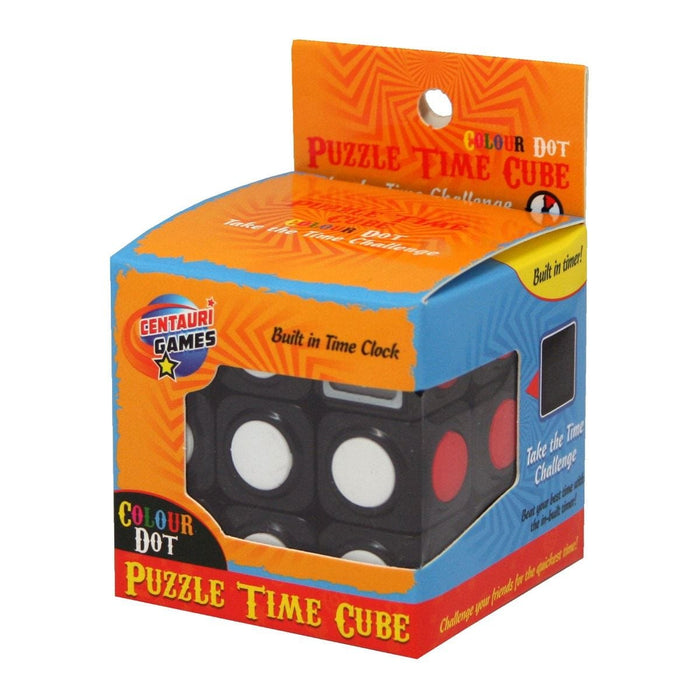 Puzzle Time Cube Colour Dot