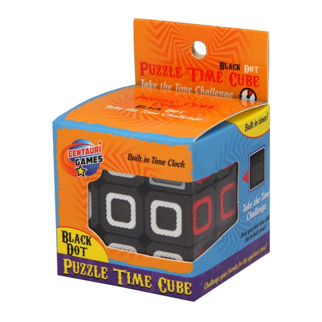 Puzzle Time Cube Black Dot, [Product Type] - Daves Deals