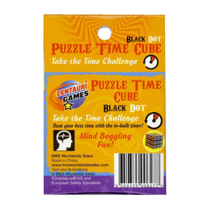 Puzzle Time Cube Black Dot - Daves Deals
