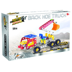 Construct It! Back Hoe Truck