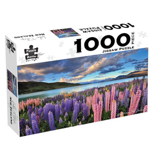Lake Tekapo, New Zealand, 1000 Piece Puzzle, [Product Type] - Daves Deals