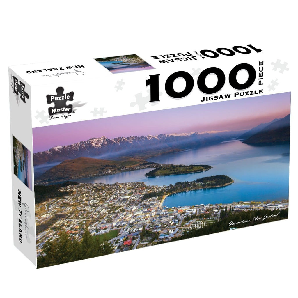 Queenstown, New Zealand, 1000 Piece Puzzle, [Product Type] - Daves Deals
