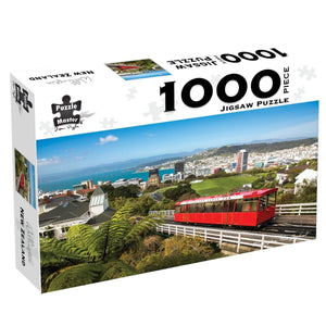 Wellington, New Zealand, 1000 Piece Puzzle, [Product Type] - Daves Deals