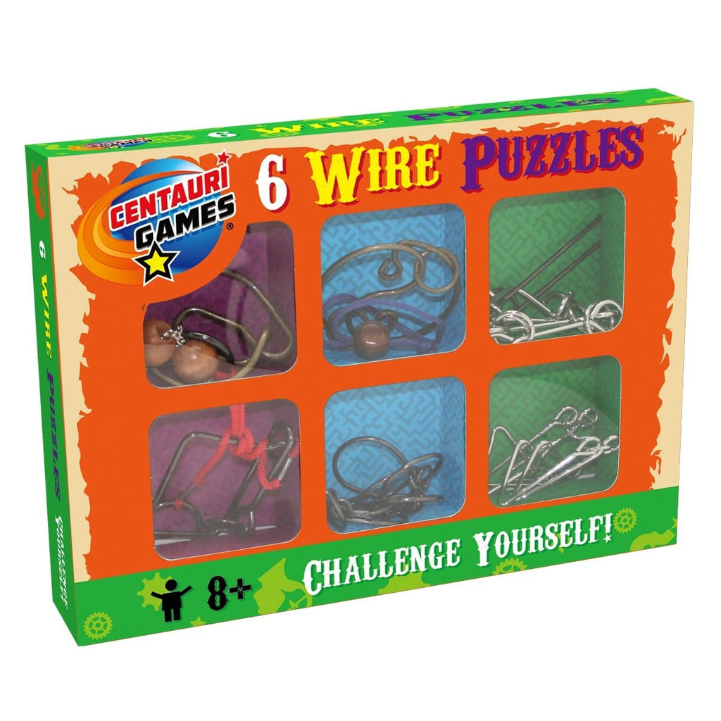 6 Wire Puzzles, [Product Type] - Daves Deals