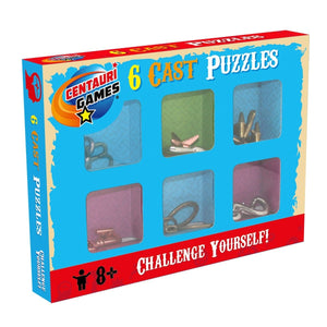 6 Cast Puzzles, [Product Type] - Daves Deals